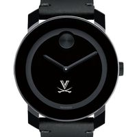 University of Virginia Men's Movado BOLD with Leather Strap