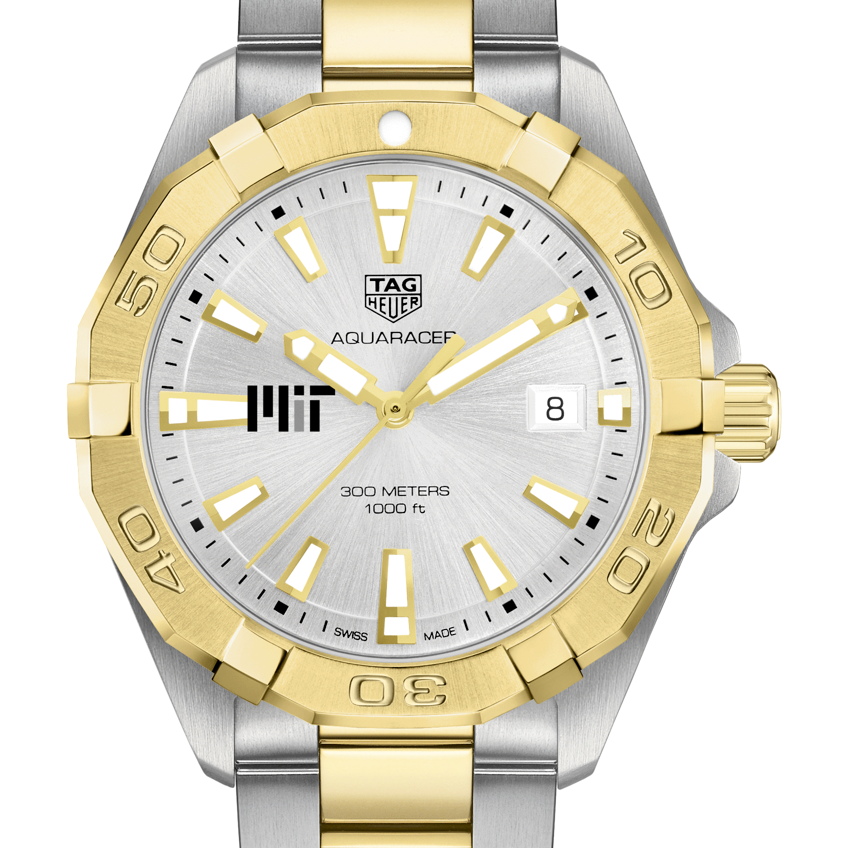 MIT Men's TAG Heuer Two-Tone Aquaracer
