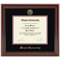 Miami University Diploma Frame, the Fidelitas