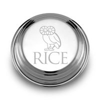 Rice University Pewter Paperweight