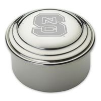 NC State Pewter Keepsake Box