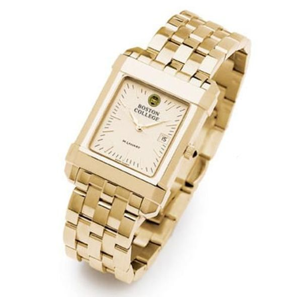 Boston College Men's Gold Quad Watch with Bracelet - Image 2
