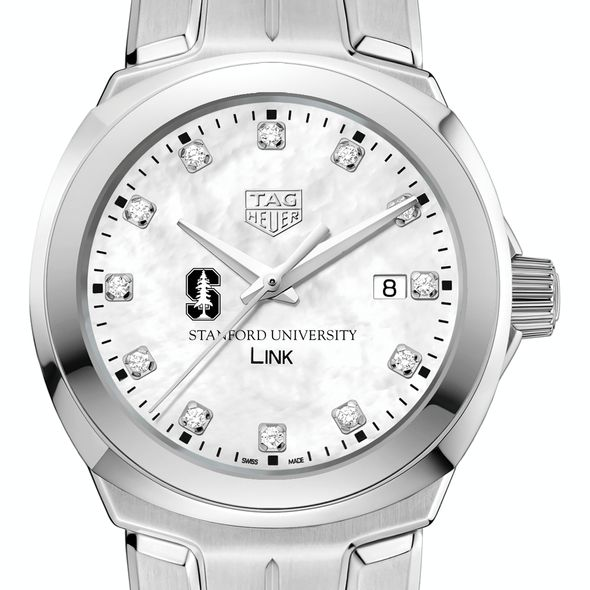 Stanford University TAG Heuer Diamond Dial LINK for Women