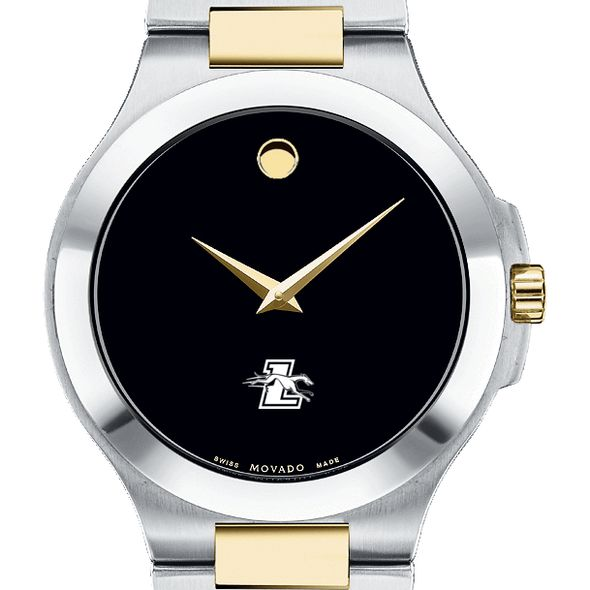 Loyola Men's Movado Collection Two-Tone Watch with Black Dial - Image 1