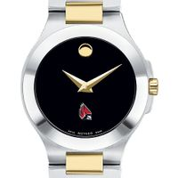 Ball State Women's Movado Collection Two-Tone Watch with Black Dial