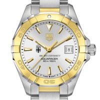 Brown Women's TAG Heuer Two-Tone Aquaracer