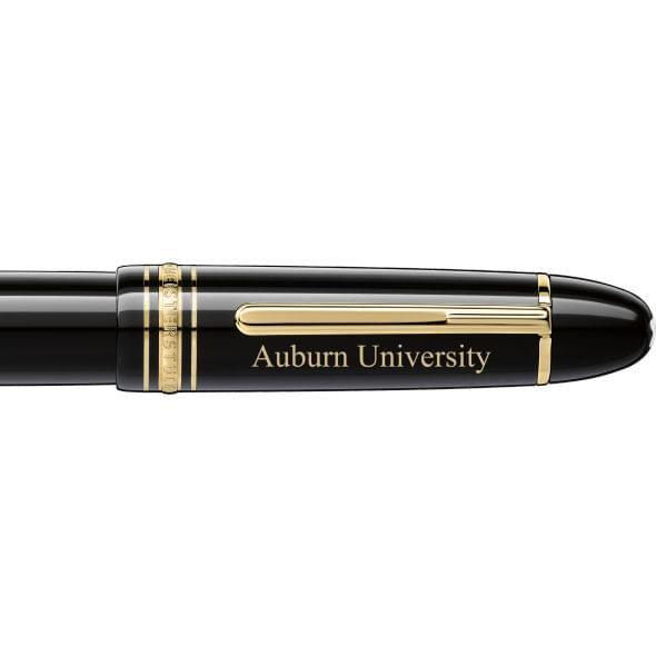 Auburn Montblanc Meisterstück 149 Fountain Pen in Gold - Image 2
