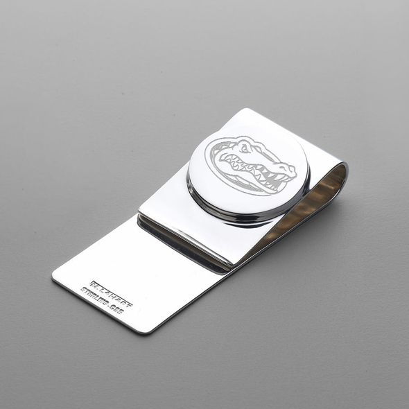 Florida Sterling Silver Money Clip - Image 1