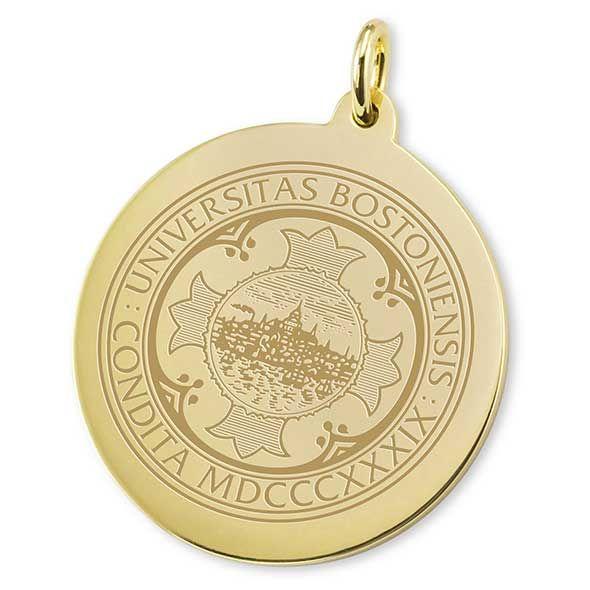 BU 14K Gold Charm - Image 2