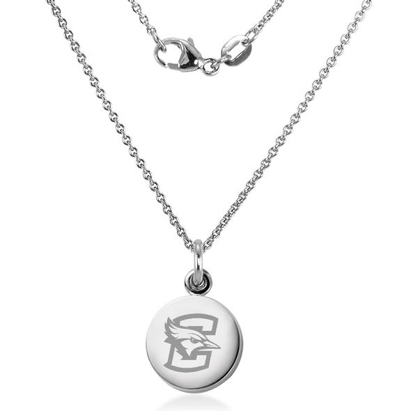Creighton Necklace with Charm in Sterling Silver - Image 2