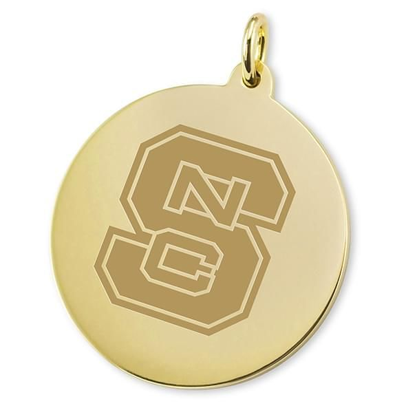 NC State 18K Gold Charm - Image 2