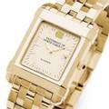 UNC Men's Gold Quad Watch with Bracelet - Image 1
