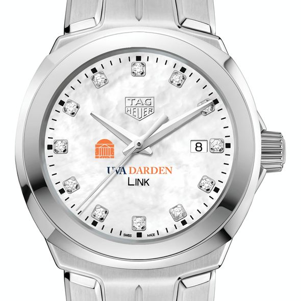 UVA Darden TAG Heuer Diamond Dial LINK for Women