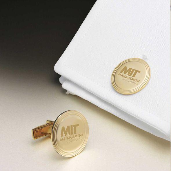 MIT Sloan 14K Gold Cufflinks - Image 1