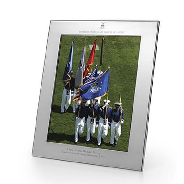 Air Force Academy Polished Pewter 8x10 Picture Frame - Image 1
