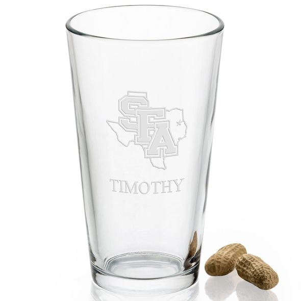 Stephen F. Austin State University 16 oz Pint Glass - Image 2
