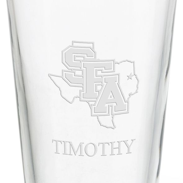 Stephen F. Austin State University 16 oz Pint Glass - Image 3
