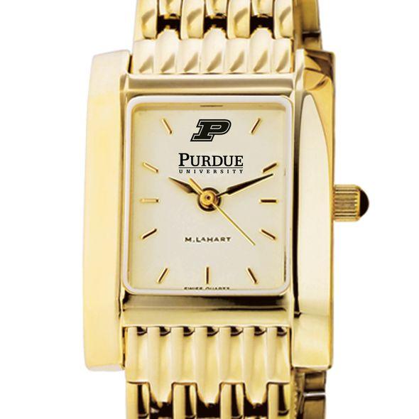 Purdue University Women's Gold Quad with Bracelet