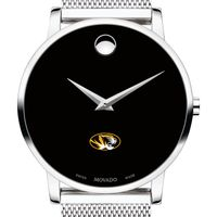 University of Missouri Men's Movado Museum with Mesh Bracelet