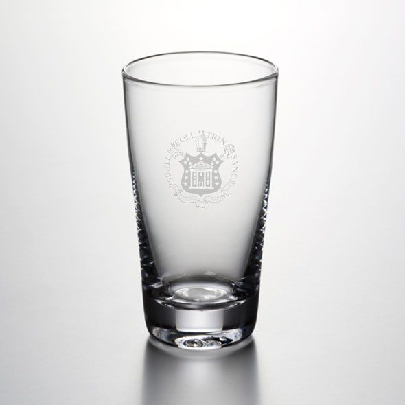 Trinity College Ascutney Pint Glass by Simon Pearce