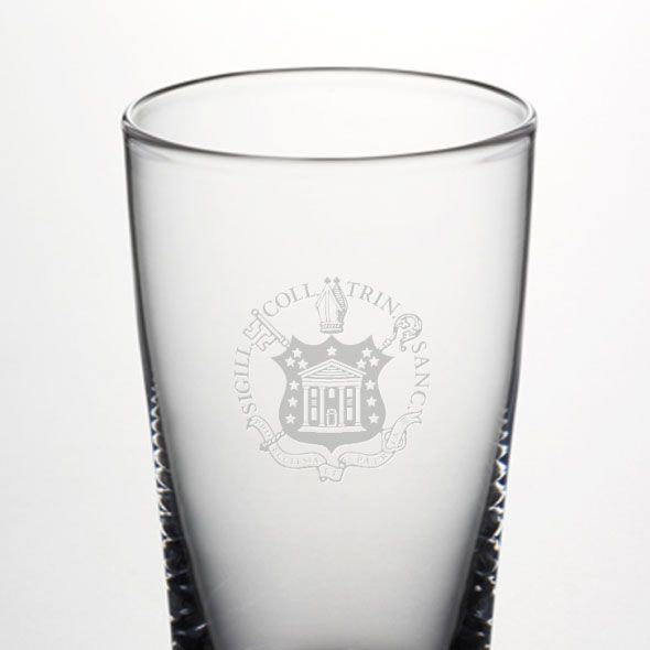 Trinity College Ascutney Pint Glass by Simon Pearce - Image 2