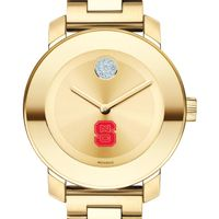 North Carolina State Women's Movado Gold Bold
