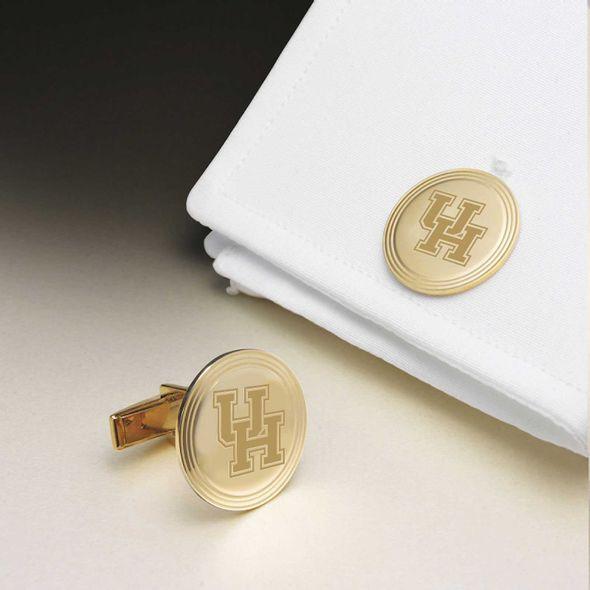 Houston 18K Gold Cufflinks - Image 1