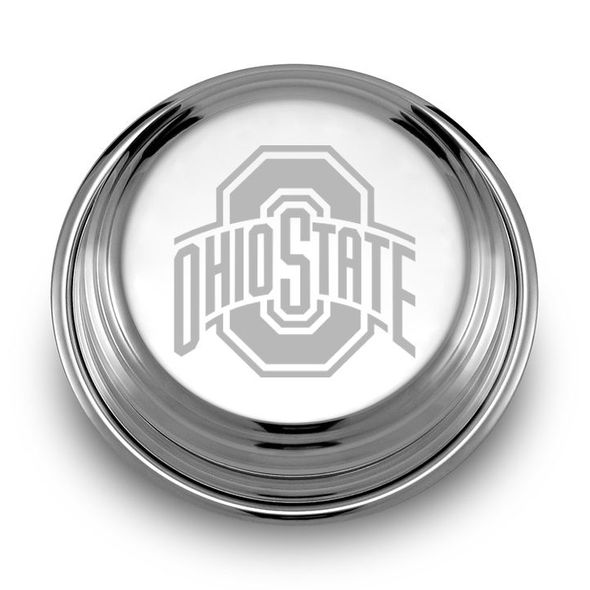 Ohio State Pewter Paperweight - Image 1