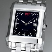 MIT Men's Black Quad Watch with Bracelet