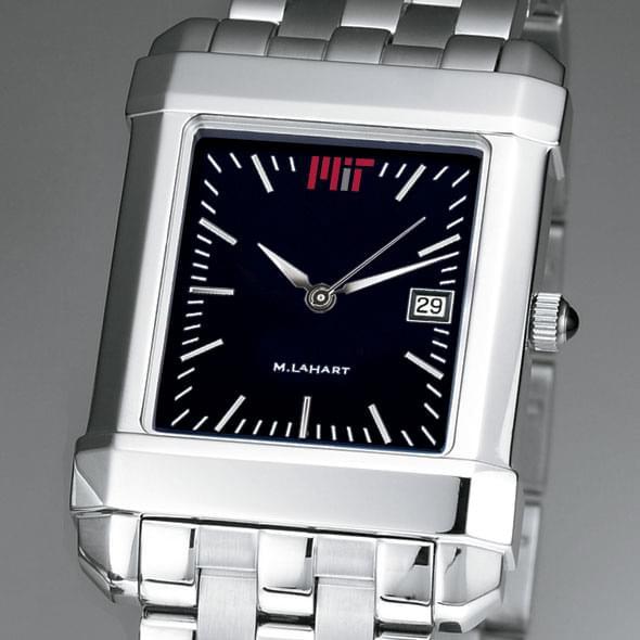 MIT Men's Black Quad Watch with Bracelet