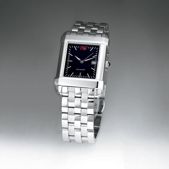 MIT Men's Black Quad Watch with Bracelet - Image 2