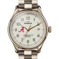 Alabama Shinola Watch, The Vinton 38mm Ivory Dial - Image 1