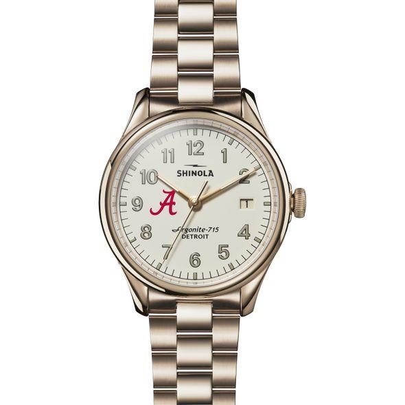 Alabama Shinola Watch, The Vinton 38mm Ivory Dial - Image 2