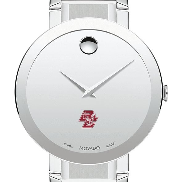 Boston College Men's Movado Sapphire Museum with Bracelet - Image 1