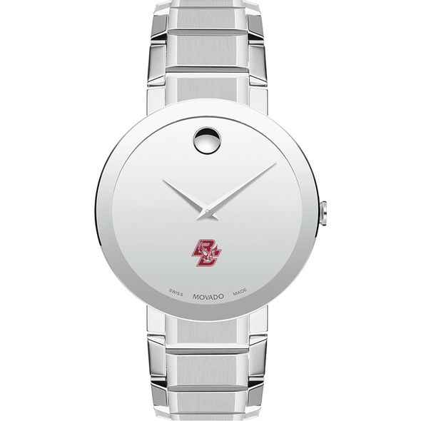 Boston College Men's Movado Sapphire Museum with Bracelet - Image 2