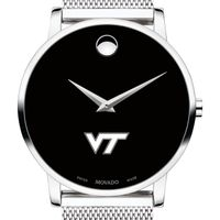 Virginia Tech Men's Movado Museum with Mesh Bracelet