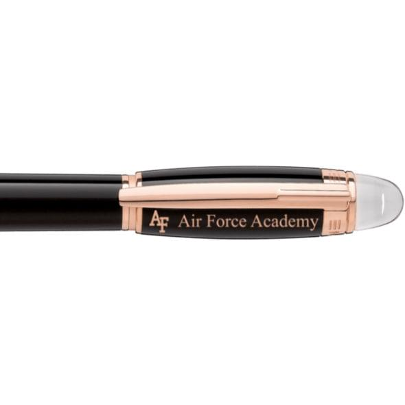 US Air Force Academy Montblanc StarWalker Fineliner Pen in Red Gold - Image 2