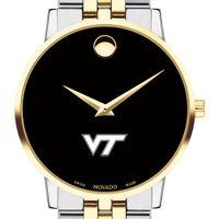 Virginia Tech Men's Movado Two-Tone Museum Classic Bracelet