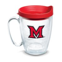 Miami University 16 oz. Tervis Mugs- Set of 4