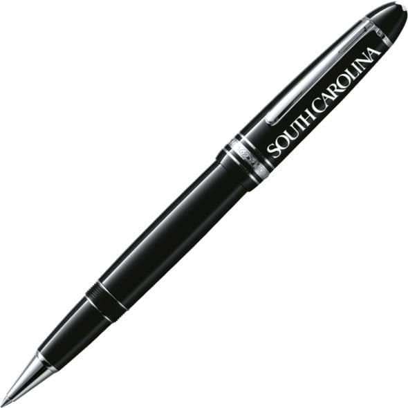 University of South Carolina Montblanc Meisterstück LeGrand Rollerball Pen in Platinum - Image 1