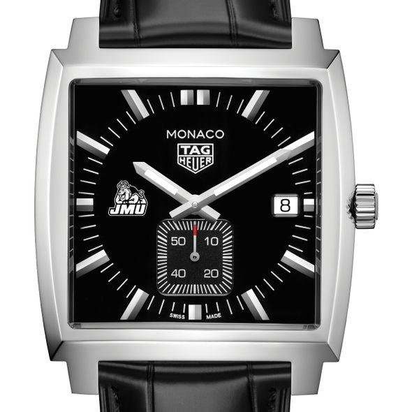 James Madison University TAG Heuer Monaco with Quartz Movement for Men