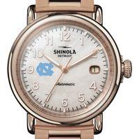 UNC Shinola Watch, The Runwell Automatic 39.5mm MOP Dial