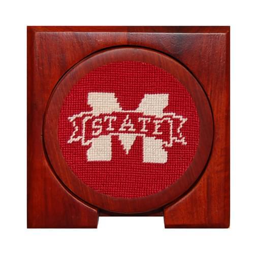Mississippi State Needlepoint Coasters - Image 2