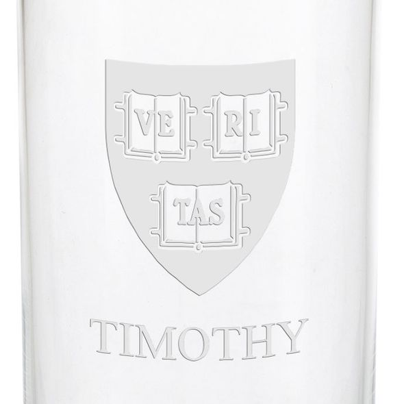 Harvard University Iced Beverage Glasses - Set of 2 - Image 3