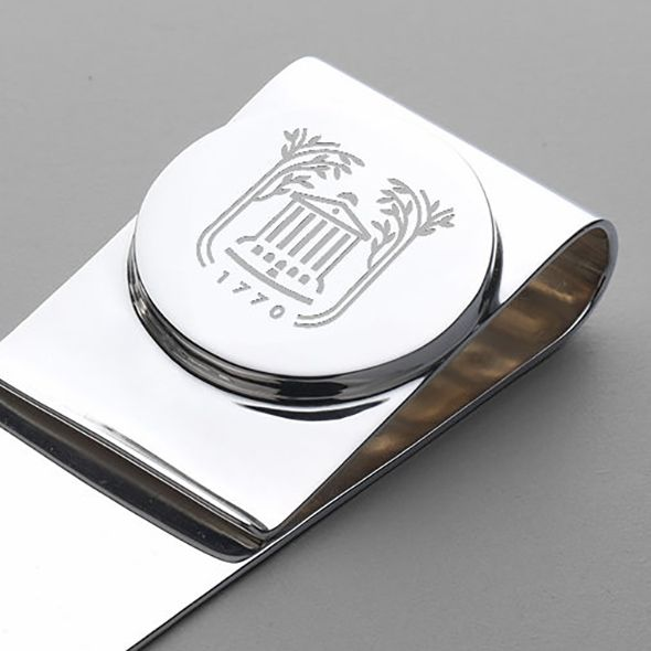 College of Charleston Sterling Silver Money Clip - Image 2
