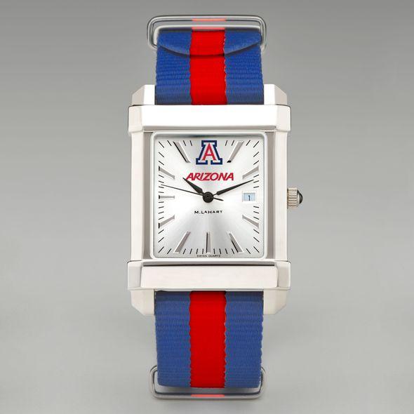 University of Arizona Collegiate Watch with NATO Strap for Men - Image 2