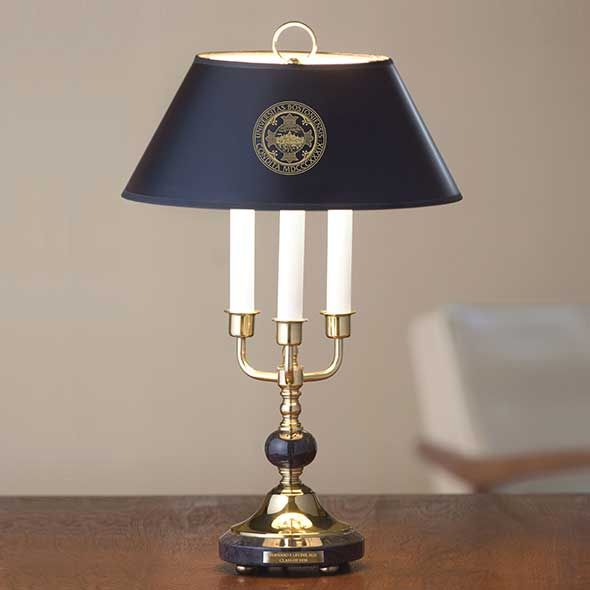 Boston University Lamp in Brass & Marble