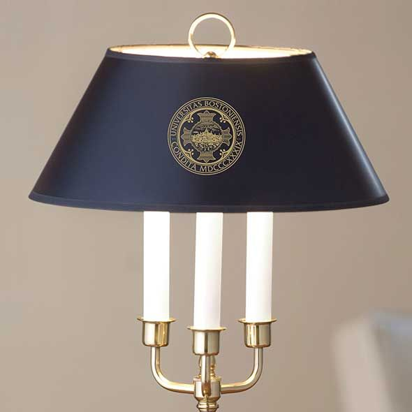 Boston University Lamp in Brass & Marble - Image 2