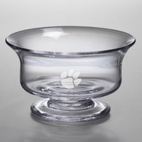 Clemson Medium Glass Revere Bowl by Simon Pearce