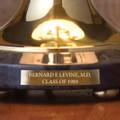 Miami University Lamp in Brass & Marble - Image 3